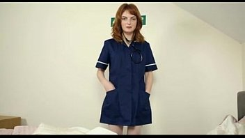 Redhead nurse fucks fake patient webcam - myfuckingwebcam.com