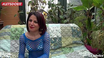 LETSDOEIT - Amateur French Milf Loves Having Both Holes Drilled