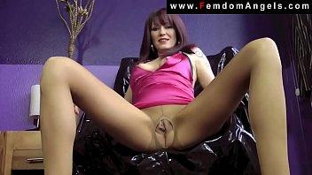 Mature Femdom Mistress Pissing For You