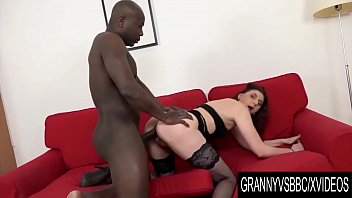 Granny Vs BBC - Older Silvia Muller Anally Destroyed by a Black Anaconda