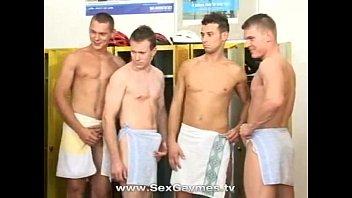 Gay locker room gangbang preview image