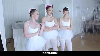 Ballerina teens get fucked by their new slick teacher - 69VClub.Com