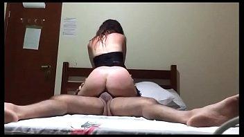 Esposa Cavala cavalgando no Marido porn image