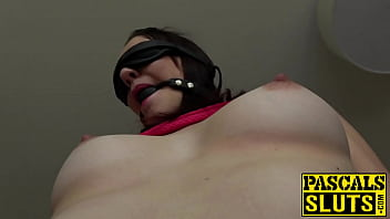 Streaming Video Ball gagged sub slut gets her ass drilled super hard - XLXX.video