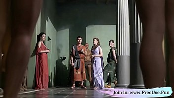 Roman Senator Getting Bribed And Had The Option To Choose Which Slave To Use Free Use