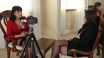 Allie Haze and Mercedes Carrera Hot Lesbian Action