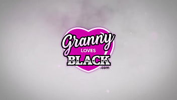 GRANNYLOVESBLACK - When Hubbys Away, Lacey Will Play