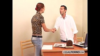 Pornstars office Three hotties fucked by one big cock gb-10-03