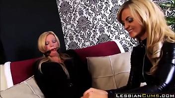 Holly Kiss Kidnapped by Lesbian Femdom - LesbianCums.com