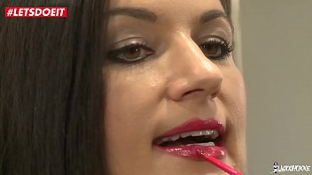 LETSDOEIT - French Brunette Wife Drilled in Both Holes By Horny Studs (Ania Kinski)