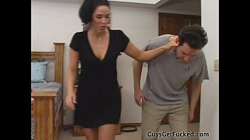 Veronica Rayne Spanks A Guy - Guys se la follan