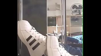 Adidas Superstar Weiße Socken Will einer die Schuhe kaufen ?