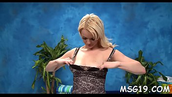 Breast enhancement suppliments Glorious masseuse demonstrates tight ass and enhanced breasts