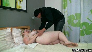 Horny burglar bangs fat hotty