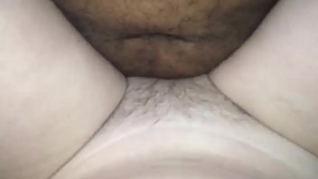 JUICY BBC ENJOYING MY HAIRY SNOWY PUSSY