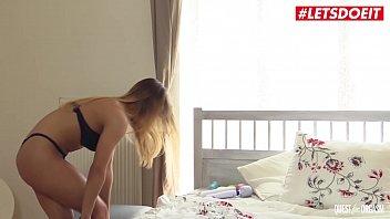 LETSDOEIT - Lonely Delicious Russian Babe Allen Benz Masturbates On Her Birthday Day thumbnail