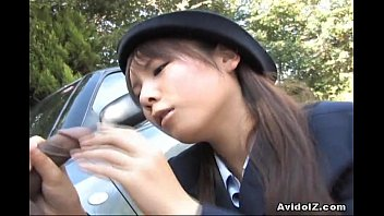 Suck momos tits video Japanese momo aizawa gives an outdoor blowjob