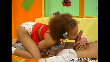 Fresh young latin Dizzy enjoys sex with fucker