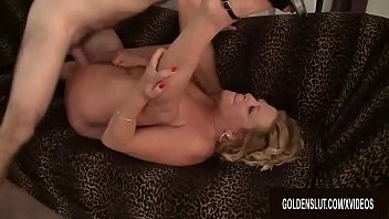 Blonde Granny Karen Summers Enthusiastically Sucks and Fucks a Thick Dick preview image