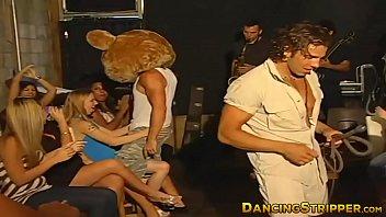Sex crazed bachelorette babes take on strippers big dicks