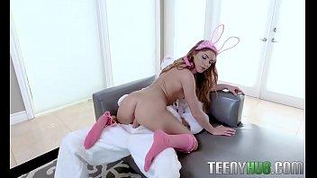 Summer Brooks In Mini Easter Bunny Babe Gets Slammed