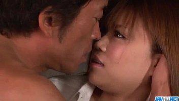 Busty Nene Azami Blows It Before Having Rough Sex
