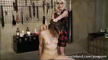 Bdsm in the kitchen Femdom lesbian bdsm with dildos and orgasms