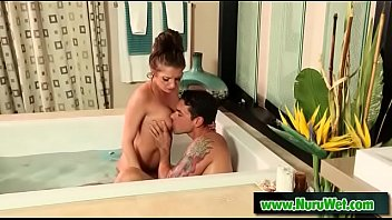 Mommy gives nuru massage - Ryan Driller & Silvia Saige