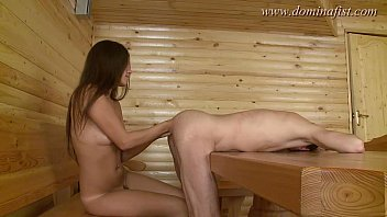 DominaFist - Serving her in the sauna