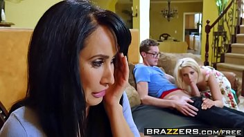 Brazzers - Tempted By Teens Aubrey Gold and Isis Love and Buddy Hollywood pornhub video