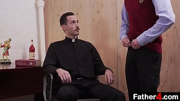 Study reveals gay Pervert priest fucks boy from catholic school raw on his desk and uncouth boy moans orgasmically