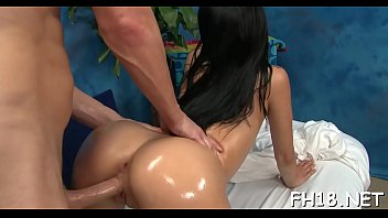 Supple Teen Playgirl With Perfect Body Bounds On Penis