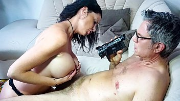 SEXTAPE GERMANY - German mature newbie with silicone tits gets banged in hot sex tape