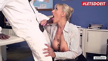 LETSDOEIT - MILF Boss Lana Vegas Takes Deep BBC Right At The Office From The Janitor