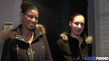 Elodie et Safia, savent s'amuser du bukkake au trio hard