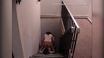 Voyeur ladder Funcionários são flagrados fodendo na escada de empresa em são paulo - brasil