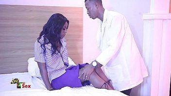 Ebony tits n pussy - Horny secondary school girl seduces and fucks innocent doctor