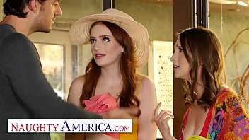 Naughty America - Izzy and Maya skip the pool party to fuck Jay 14分钟