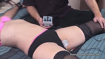 Wired bdsm Lisa harlotte wired to a tens unit 2 - feisty.xxx