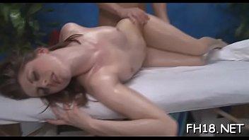 Wicked brunette young sweetie Brooke Van Buren and lover enjoy hardcore