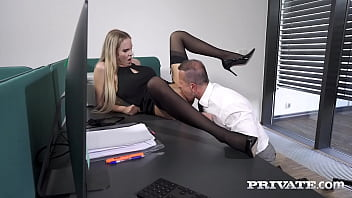 Private.com -  Cuckold Cock Watches Florane Russell Get Her Ass Fucked