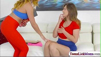 Ivy Rose fingering her stepmums pussy