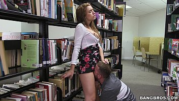 Teen Pussy in the Library