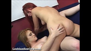 Lesbian redhead sex Hot redhead lesbians make each other cum