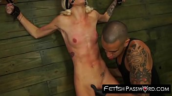 fetishpassword Submissive slut toyed and pussy drilled hard and rough