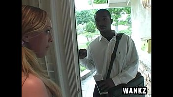 Fuck jehovah - White girl roxi fucks religious black guy