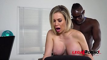 Cock Hungry Milf Chessie Kay Fucked Balls Deep By Doc's Huge Black Dick GP112 Thumb