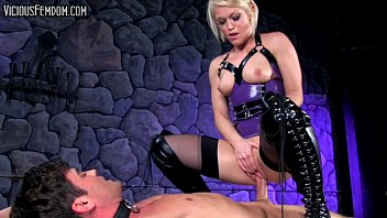 Femdom cbt compilations Ash hollywood ballbusting strapon chastity cbt femdom