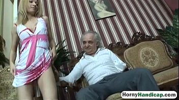 Fucking handicap women movies - Cute blonde takes care of an older handicapped manfilth-hi-3