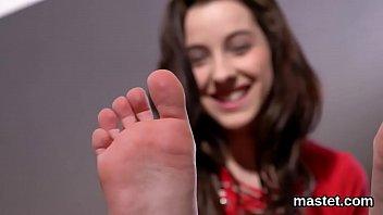 Flirty Czech Cutie Opens Up Her Narrow Hole To The Unusual